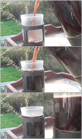 倒咖啡早茶视频