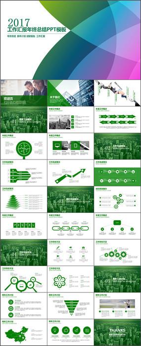 项目融资商业策划工作报告总结动态PPT模板