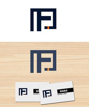 字母F公司logo标志