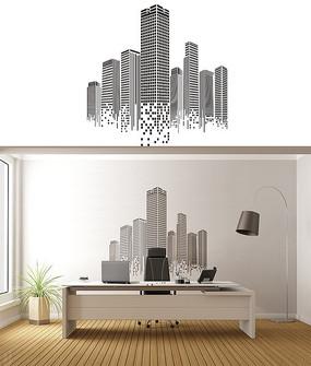 建筑公司文化墙