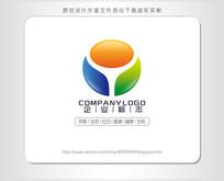 Y字母环保有机农业生态logo设计