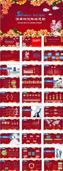 交通运输货运物流PPT模板