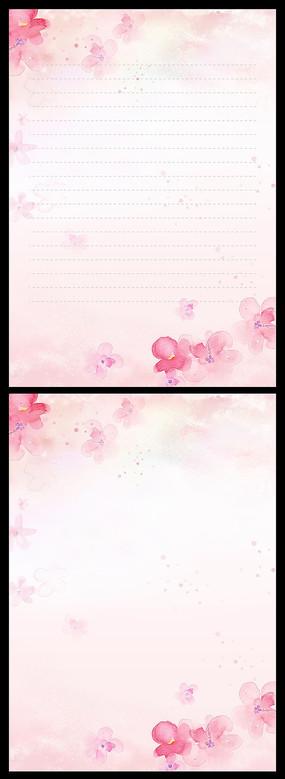 花卉水粉画