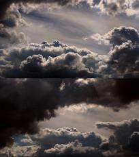 气势磅礴的乌云视频