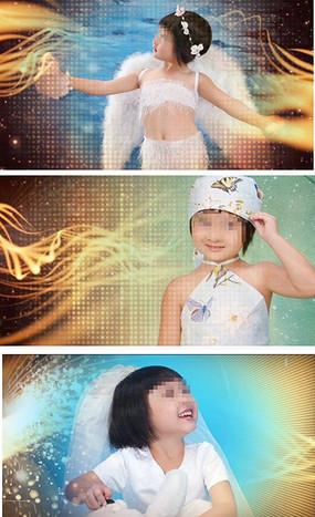 儿童写真视频模板