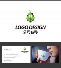 绿色节能房地产LOGO标志