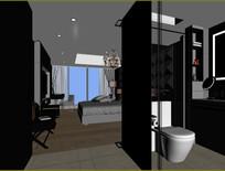 宾馆房间设计
