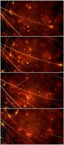 唯美漂亮粒子视频素材