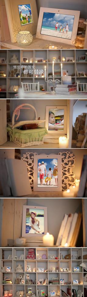 婚礼家庭照片回忆相册模板