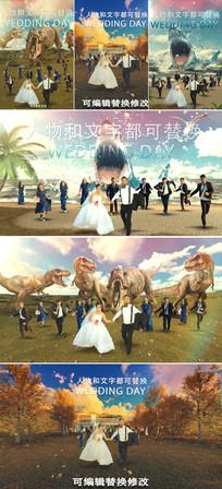 创意电影大片级婚礼片头模板