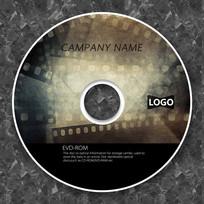 电影胶片纪录片cd封面设计
