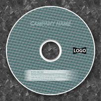 菱形简洁乡村音乐cd封面设计