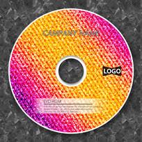 暖色调3D凹凸纹理cd封面设计