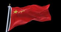 中国人民解放军八一军旗视频