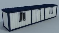 3d集装箱房子模型
