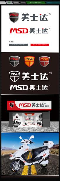 美士达电动车logo设计