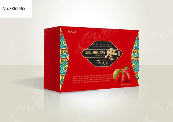红枣包装设计图片