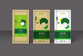 龙井茶茶叶包装设计 AI
