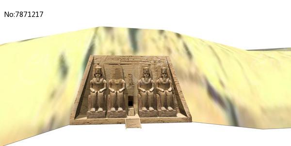 埃及雕塑图片