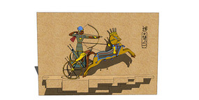 古埃及文明雕塑