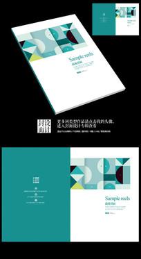 国外艺术书籍商业抽象封面设计