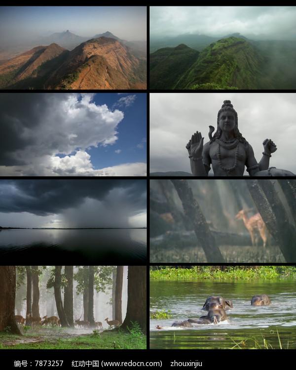 延时风景拍摄视频素材图片