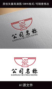 瓷器logo创意设计