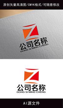 字母Z企业logo创意设计