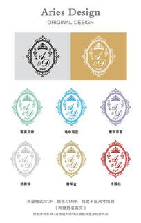 婚礼英文字体CDR魔镜之王者传奇