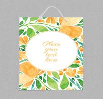精品外貿水果包裝手提袋設計