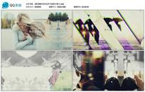 时尚多边形气泡图文展示视频