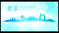 北京旅游广告海报