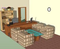 精美会议室休闲家具空间设计