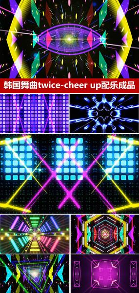 韩国舞曲配乐成品背景视频