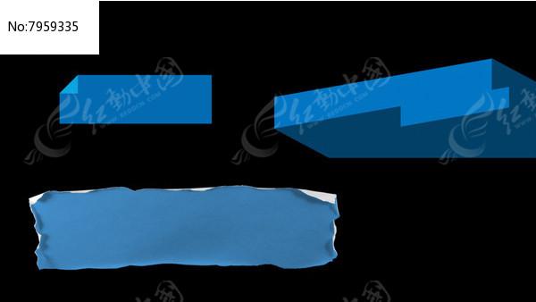 MG简洁时尚字幕框带alpha通道视频图片