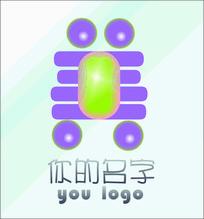 护肤保健类中文美字cdr原创logo设计