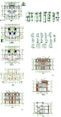 别墅剖面图CAD图