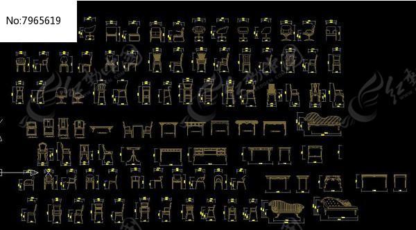 立面图库----椅子图片