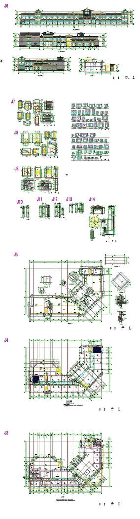 商业综合楼CAD图