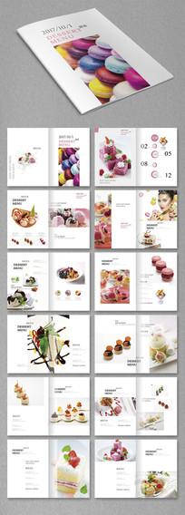 时尚甜品菜单手册