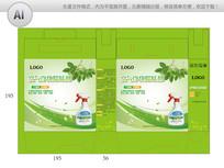 绿色海报除味剂包装设计