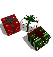 节日活动精美礼盒装饰