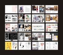 国外作品集杂志版式设计