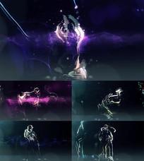 动感DJ舞台背景视频素材