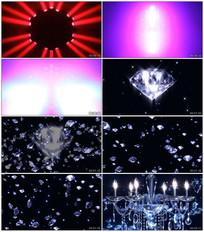 动感唯美钻石VJ视频素材