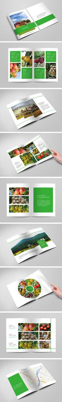 简约大气生态农场宣传画册