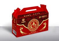 高端红色礼盒包装
