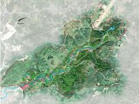 绿化规划地形图