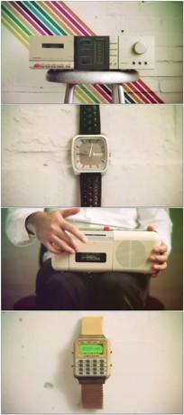 磁带音乐时间时尚潮流视频