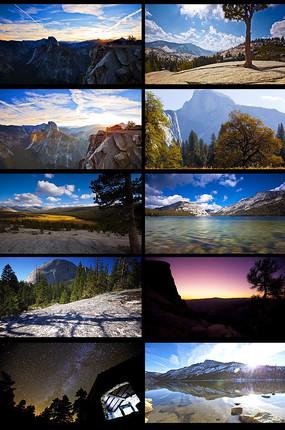 大自然延时风景视频
